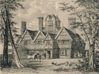 The Oak House, West Bromwich, Staffordshire, 1915-Allen Edward Everitt-Giclee Print
