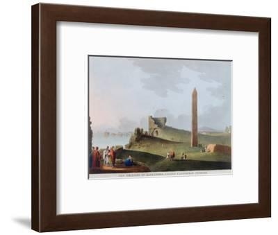 'The Obelisks at Alexandria, called Cleopatra's Needles', Egypt, 1802-Thomas Milton-Framed Giclee Print