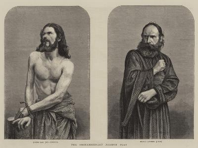 The Oberammergau Passion Play--Giclee Print