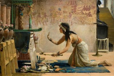 The Obsequies of an Egyptian Cat-John Reinhard Weguelin-Giclee Print