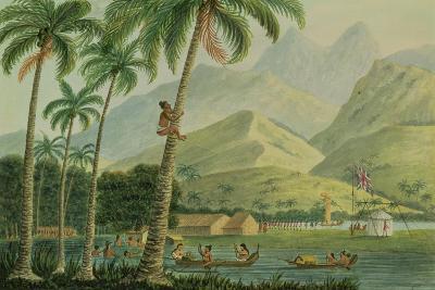 The Observatory, Point Venus, Otahytey, 1792-Captain George Tobin-Giclee Print