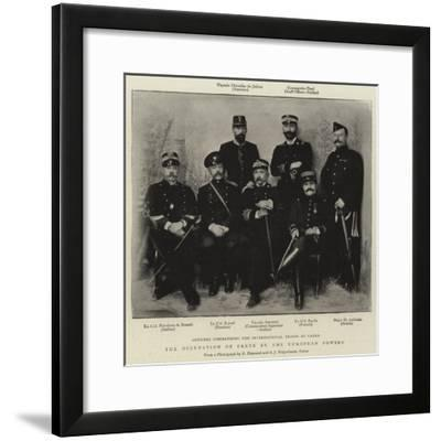 The Occupation of Crete by the European Powers--Framed Giclee Print