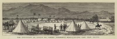 The Occupation of Cyprus, Sir Garnet Wolseley's Head-Quarters Camp Near Nicosia--Giclee Print