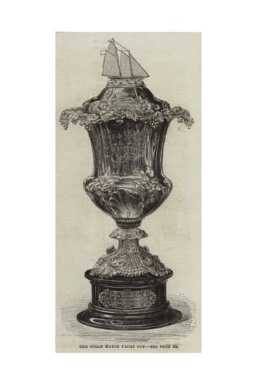 The Ocean Match Yacht Cup--Giclee Print