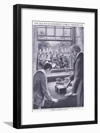The Ocean of Magnetic Force around Us-Charles Mills Sheldon-Framed Giclee Print