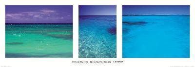 The ocean's colour-Neville Prosser-Art Print