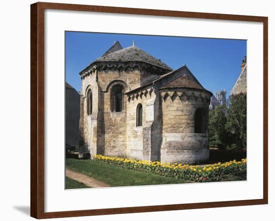 The Octagonal Knights Templar Chapel, Ca 1134, Laon, France--Framed Giclee Print