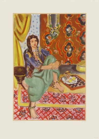 The Odalisque-Henri Matisse-Collectable Print
