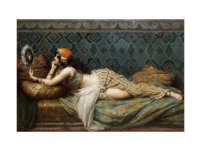 The Odalisque-Adrien Henri Tanoux-Giclee Print