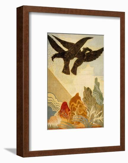 The Odyssey by Homere: the Eagles of the Omen, 1930-1933--Framed Art Print
