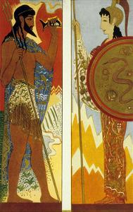 The Odyssey by Homere : the Gods Poseidon and Athena, 1930-1933