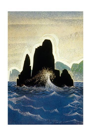The Odyssey by Homere: the Rock of Gortyne, 1930-1933--Art Print