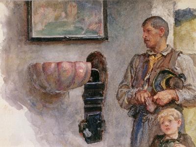 The Offertory-Hubert von Herkomer-Giclee Print