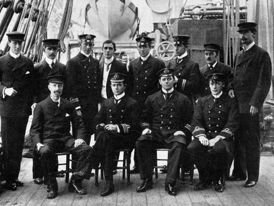 The Officers and Scientists of the National Antarctic Expedition--Photographic Print