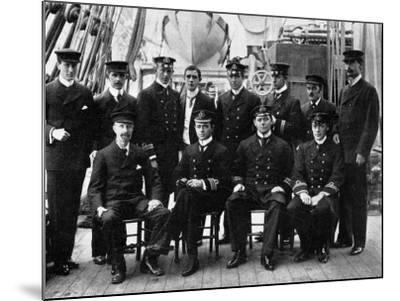 The Officers and Scientists of the National Antarctic Expedition--Mounted Photographic Print