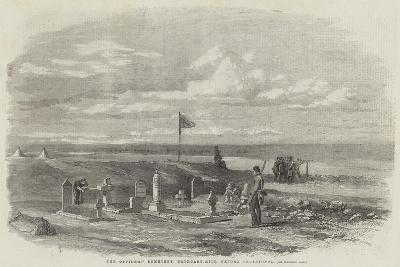 The Officers' Cemetery, Cathcart-Hill, before Sebastopol--Giclee Print