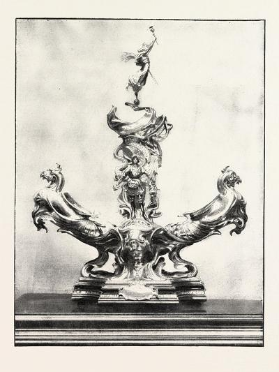 The Officers Jubilee Memorial, One Side of the Centrepiece, 1890, UK--Giclee Print