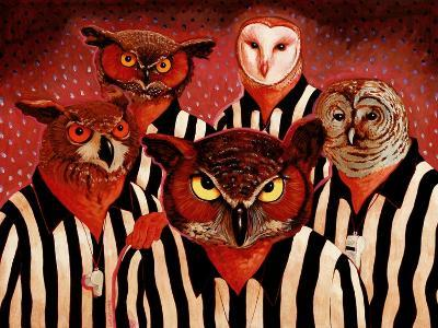 The Officials-John Newcomb-Giclee Print