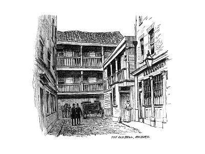 The Old Bell Coaching Inn, Holborn, London, 1887--Giclee Print