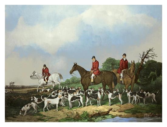 The Old Berkshire Hunt-Goode-Art Print