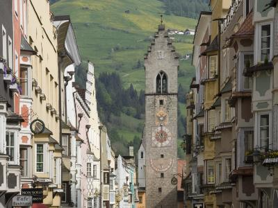The Old Centre, Vipiteno, on the Brenner Route, Italy, Europe-James Emmerson-Photographic Print