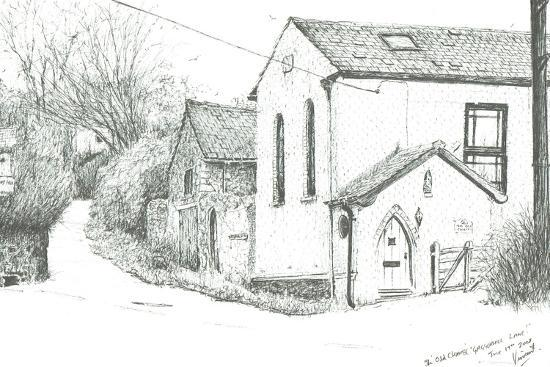 The Old Chapel, BrighstoneIsle of wight, 2008-Vincent Alexander Booth-Giclee Print