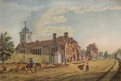 The Old Chapel, Kentish Town, (C177), 1925-John Inigo Richards-Giclee Print