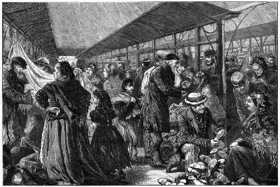 The Old Clothes Exchange, Phil's Building, Houndsditch, London, 1882-Charles Joseph Staniland-Giclee Print