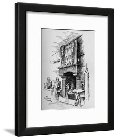 'The Old Cock Tavern', 1890-Percy Hetherington Fitzgerald-Framed Giclee Print
