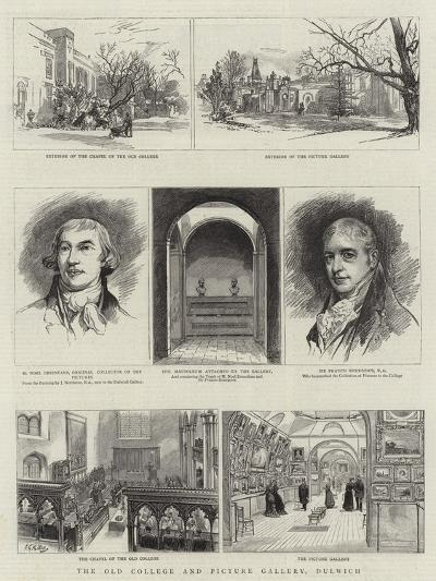 The Old College and Picture Gallery, Dulwich--Giclee Print