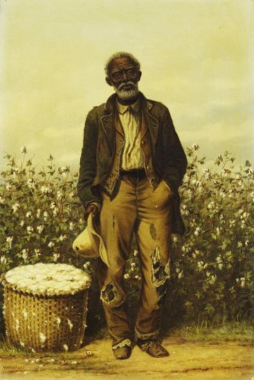 The Old Cotton Picker-William Aiken Walker-Giclee Print