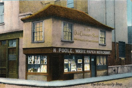 'The Old Curiosity Shop', c1910-Unknown-Giclee Print