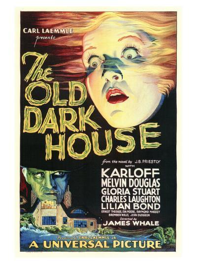 The Old Dark House--Art Print