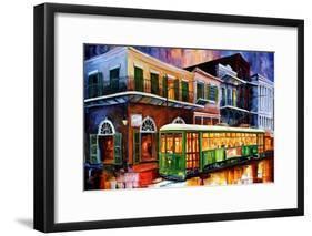 The Old Desire Streetcar-Diane Millsap-Framed Art Print