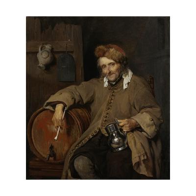 The Old Drinker, 1661-63-Gabriel Metsu-Giclee Print