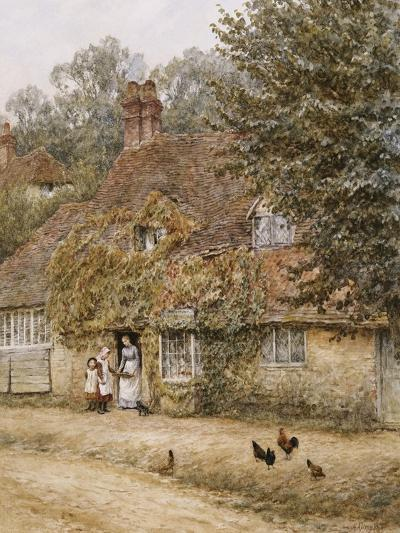 The Old Fish Shop, Haslemere-Helen Allingham-Giclee Print