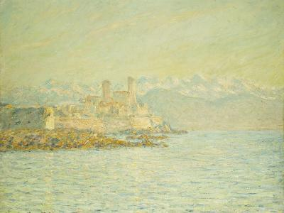 The Old Fort at Antibes-Claude Monet-Giclee Print