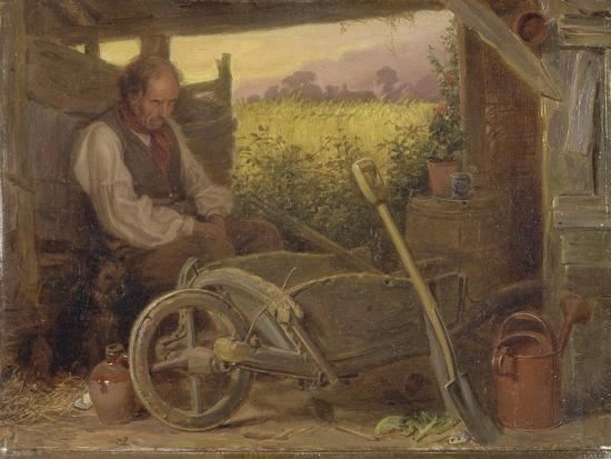 The Old Gardener, 1863-Briton Riviere-Giclee Print