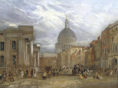 The Old General Post Office and St Martin's Le Grand, 1835-George Sidney Shepherd-Giclee Print