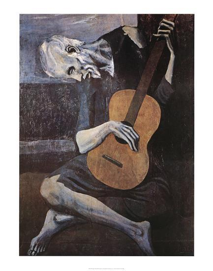 the old guitarist in spanish