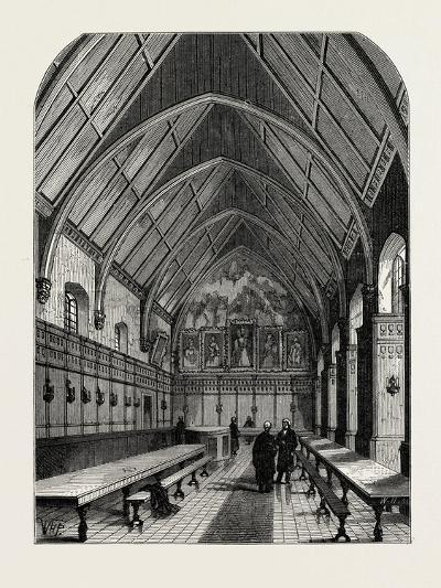 The Old Hall of the Inner Temple London--Giclee Print