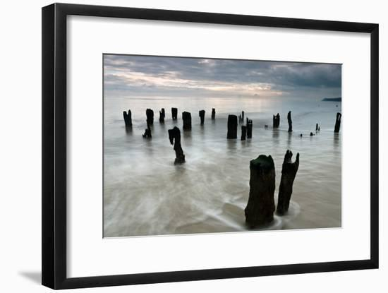 The Old Harbour, Winchelsea Beach, Sussex, England, United Kingdom, Europe-Bill Ward-Framed Photographic Print