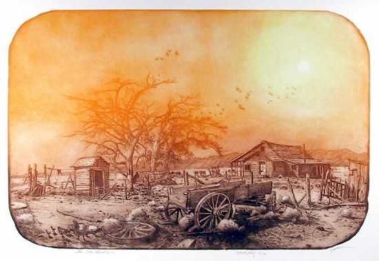 The Old Homestead-Roy Purcell-Limited Edition