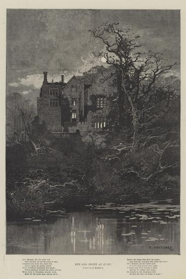 The Old House at Home-Charles Auguste Loye-Giclee Print