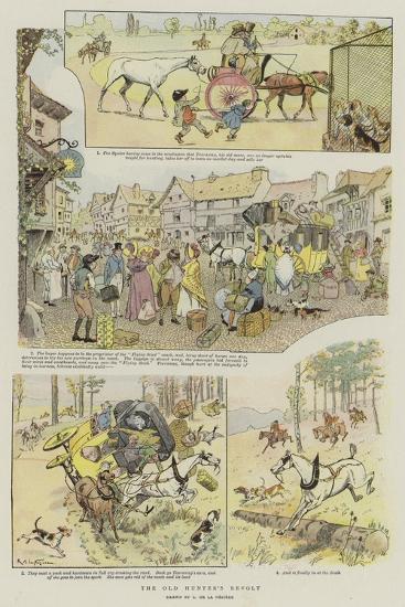 The Old Hunter's Revolt--Giclee Print