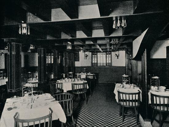 The Old Kitchen at Miss Cranston's Tea House, Argyle Street, Glasgow, c1906-Unknown-Photographic Print