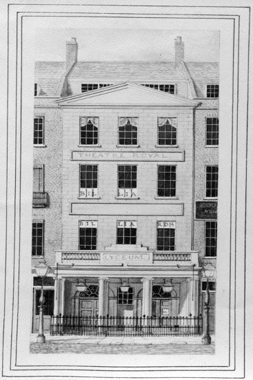 The Old Lyceum Theatre--Giclee Print