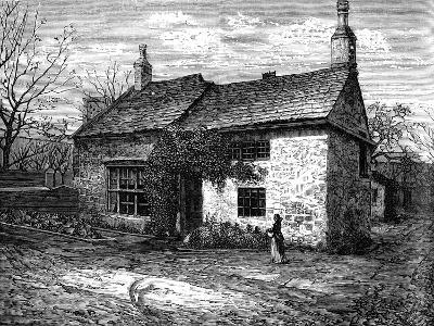 The Old Manor-House, Morley, Leeds, West Yorkshire, Bithplace of Sir Titus Salt, C1880--Giclee Print