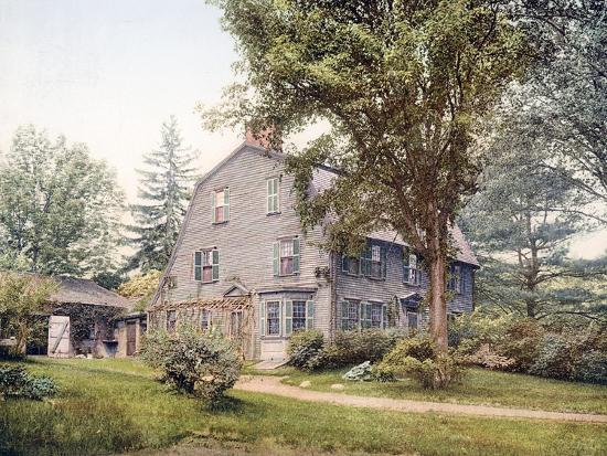 The Old Manse Concord Massachusetts--Giclee Print