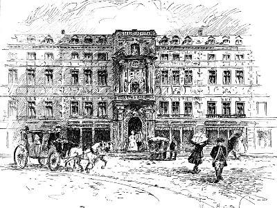 The Old Mercers Hall, London, 1909--Giclee Print